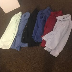 Other - 6 boys button down shirts